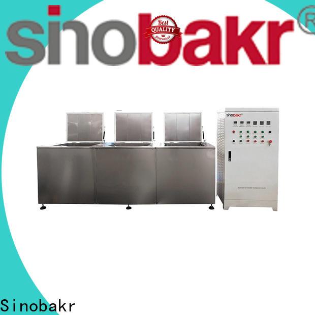 Sinobakr multi-tank ultrasonic cleaner parts refurbishment maintenance industry