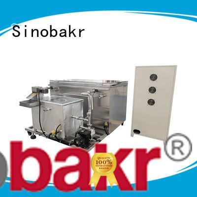 Sinobakr industrial ultrasonic cleaner nice user experience for moto parts