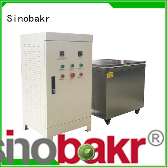 Sinobakr excellent ultrasonic auto parts cleaner perfect for mold