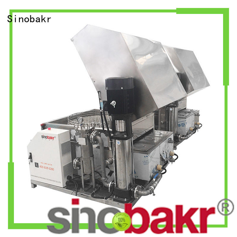 Sinobakr metal parts washing machine excellent for moto parts