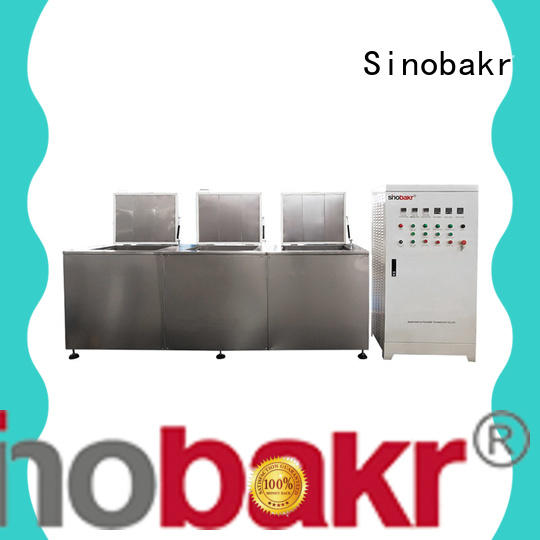 Sinobakr industrial sonic cleaner widely applied for turnover box industry