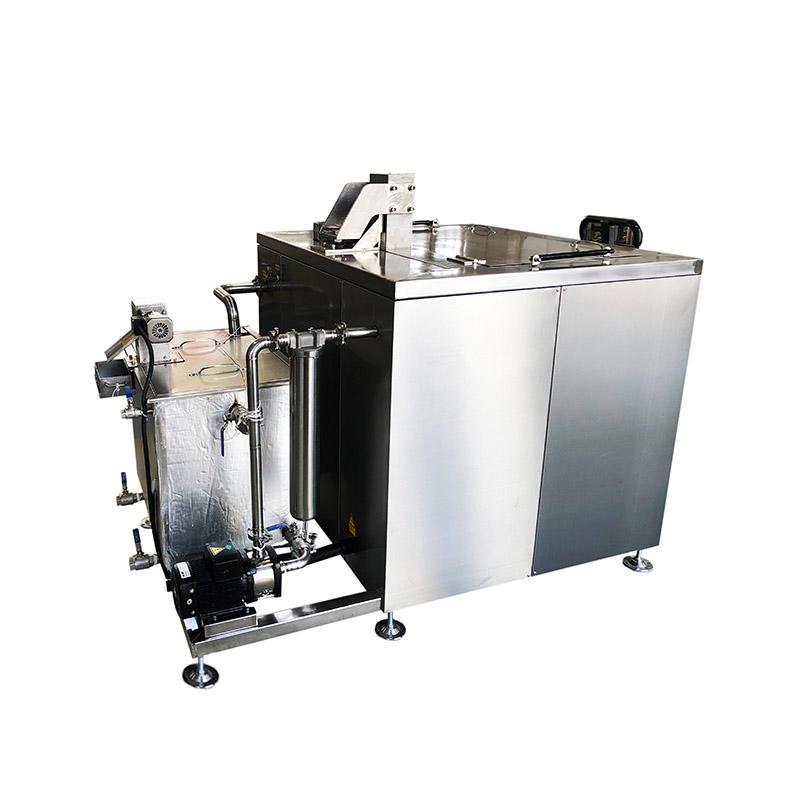 Auto lifting Single tank ultrasonic cleaning machine