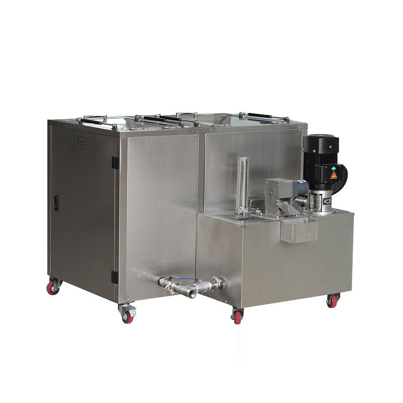 Special cycle filter cleaning machine for mold