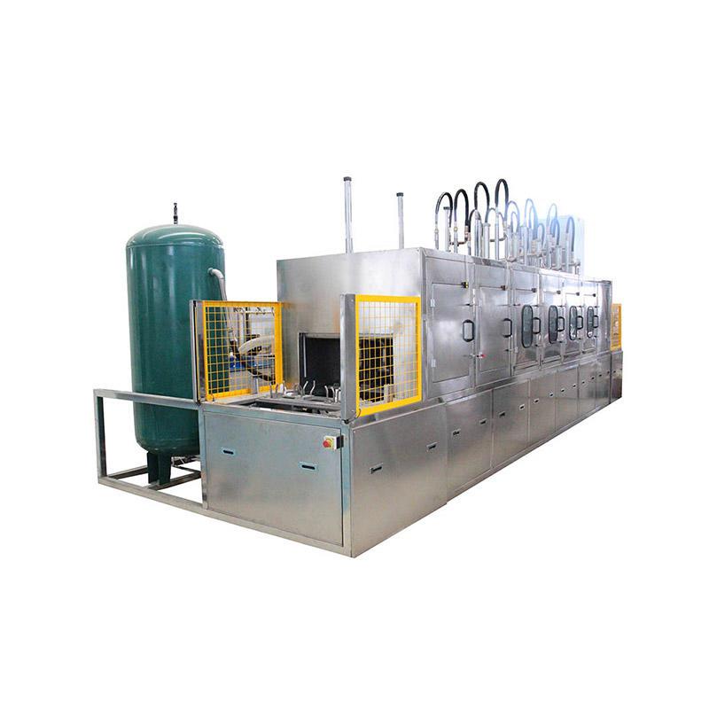 Multi-tank ultrasonic cleaning machine, sonic washer