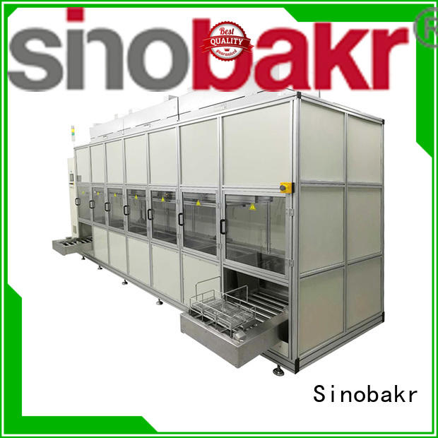Sinobakr automotive ultrasonic cleaner widely employed for precision electronics optical Industry