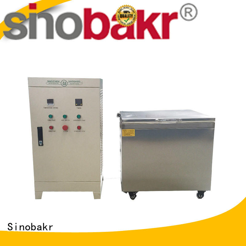 Sinobakr excellent ultrasonic machine moto parts