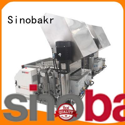 Sinobakr industrial washing machine widely employed for metal parts