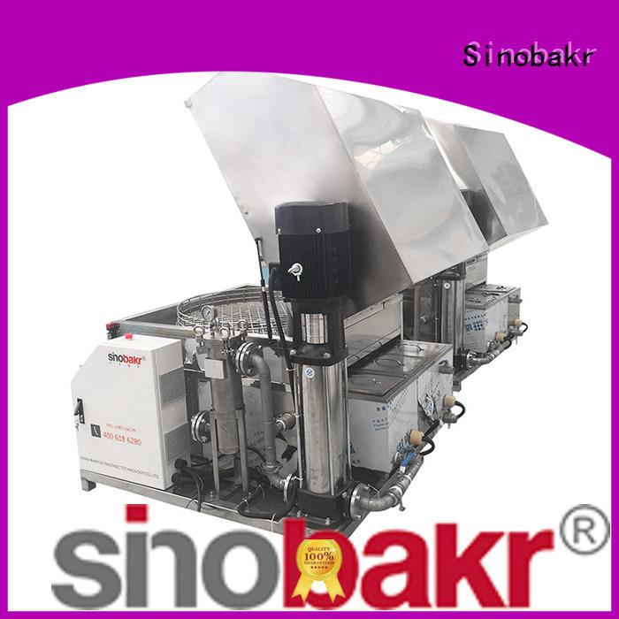 Sinobakr efficient auto parts washer metal parts