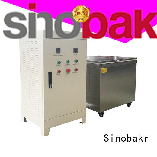 Sinobakr sonic parts cleaner satisfying for mold