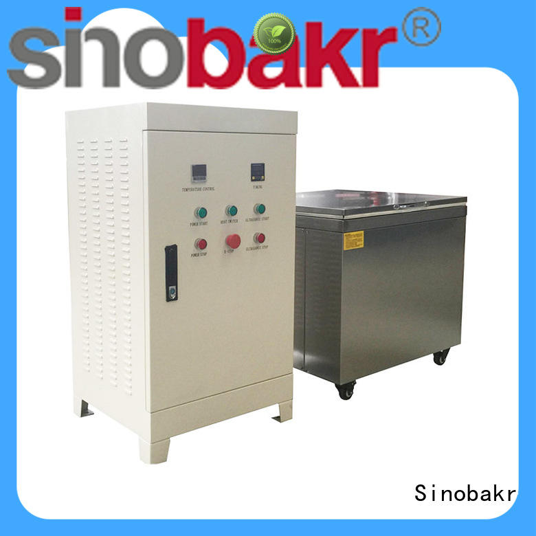Sinobakr best industrial parts washer perfect for electronic parts