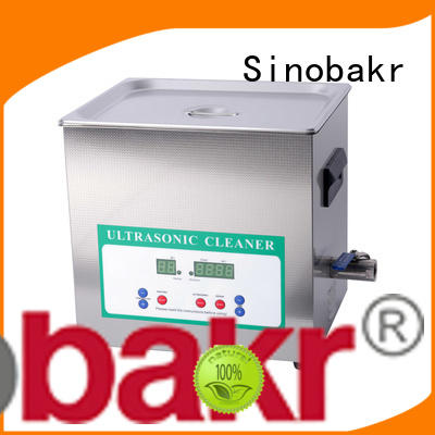 Sinobakr easy operation industrial ultrasonic parts cleaner great for electronic parts
