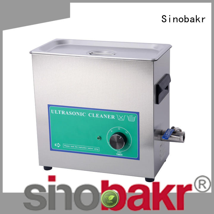 Sinobakr industrial ultrasonic parts cleaner satisfying for machinery parts industry