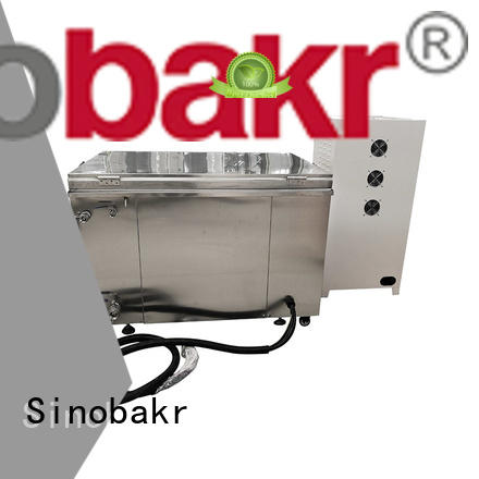Sinobakr automotive ultrasonic cleaner nice user experience for metal parts