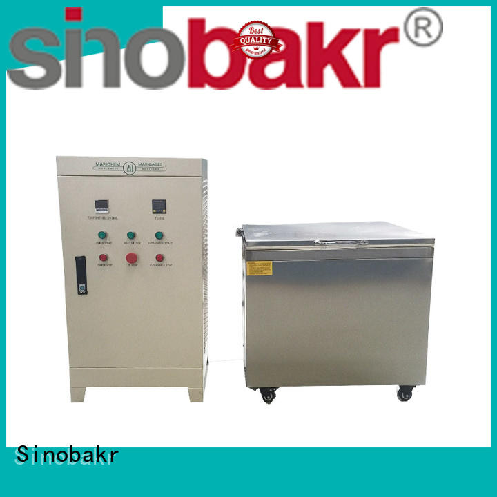 Sinobakr ultrasonic parts washer optimal for moto parts
