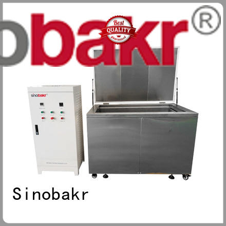 Sinobakr best ultrasonic auto parts cleaner optimal for electronic parts