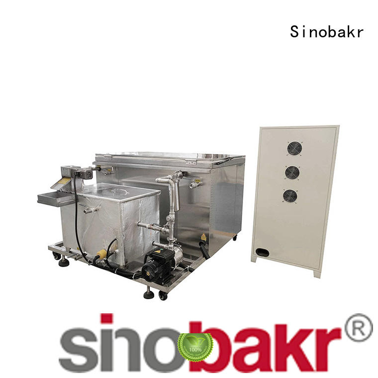 Sinobakr energy saving industrial cleaning equipment great for moto parts
