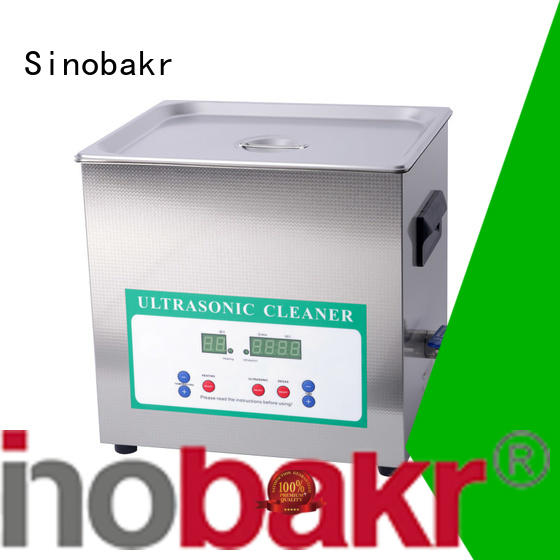 6l ultrasonic cleaner perfect for machinery parts industry Sinobakr