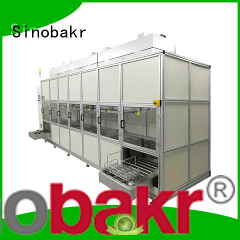 Sinobakr automatic ultrasonic cleaning machine great for precision electronics optical Industry