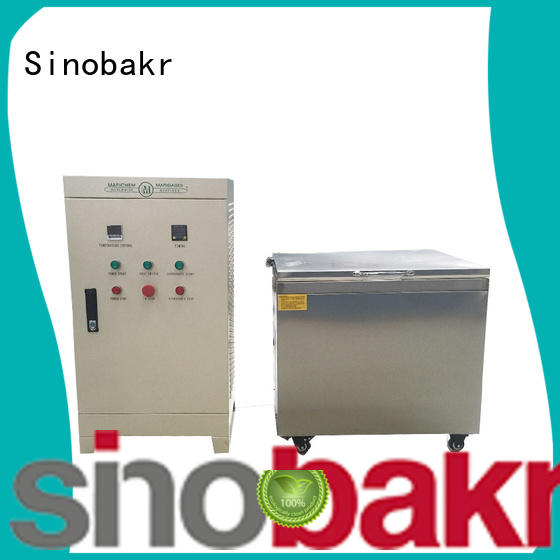 Sinobakr sonic parts cleaner perfect for metal parts