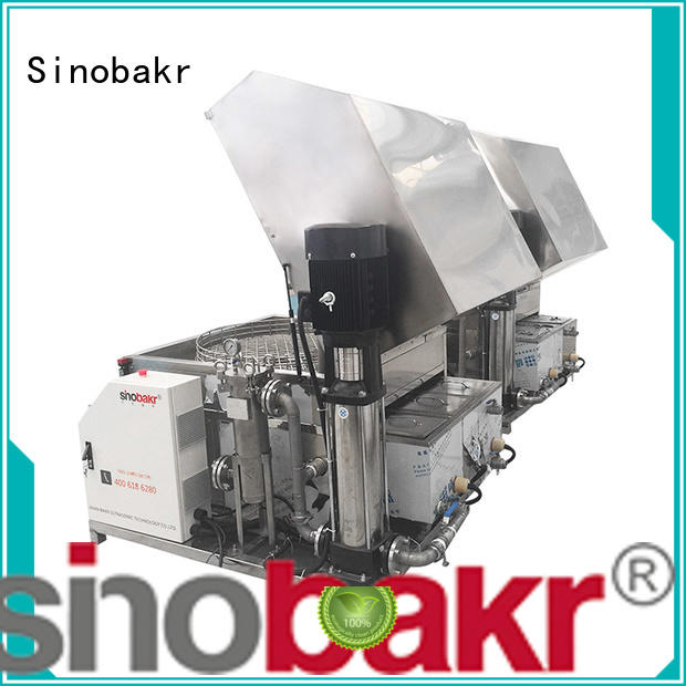 Sinobakr spray cleaning machine widely employed for multi industries