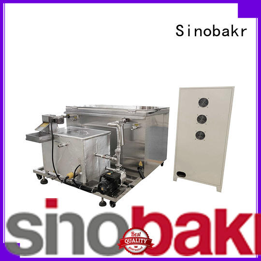 Sinobakr cost saving sonic washer nice user experience for moto parts