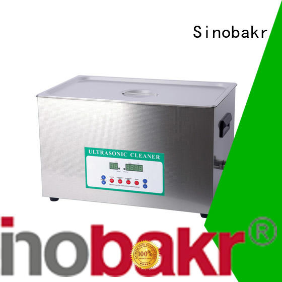 Sinobakr economical best industrial ultrasonic cleaner satisfying for metal parts