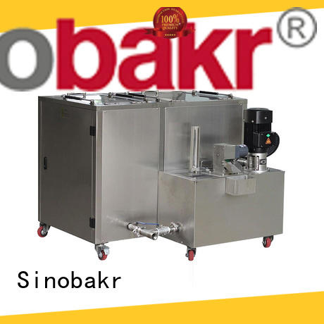 Sinobakr sonic washer nice user experience for moto parts
