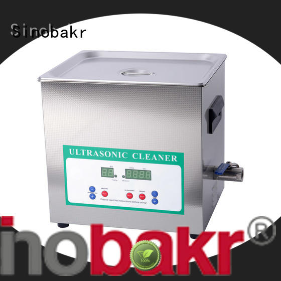 Sinobakr industrial ultrasonic parts cleaner optimal for moto parts