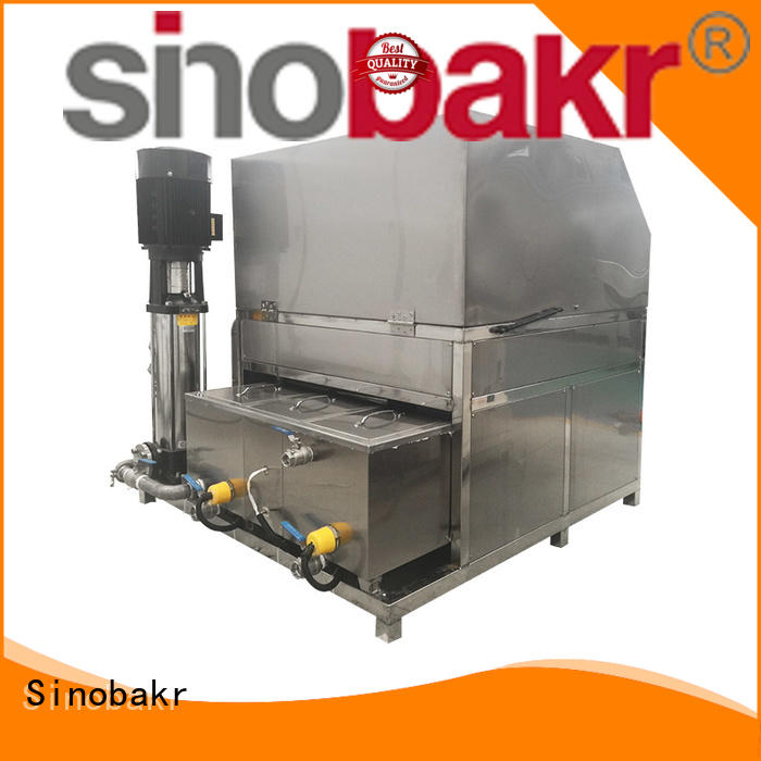 Sinobakr auto parts washer widely employed for moto parts