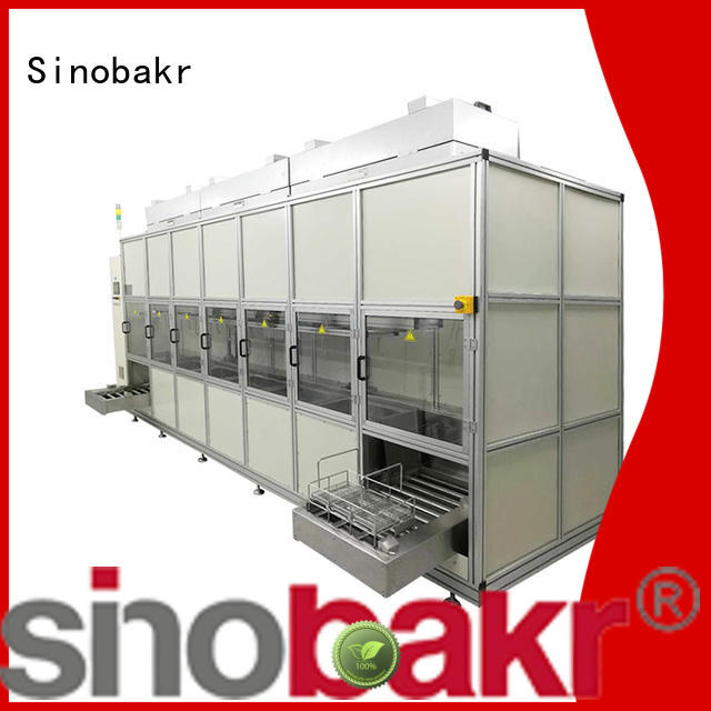 Sinobakr auto parts ultrasonic cleaner optimal for metal parts