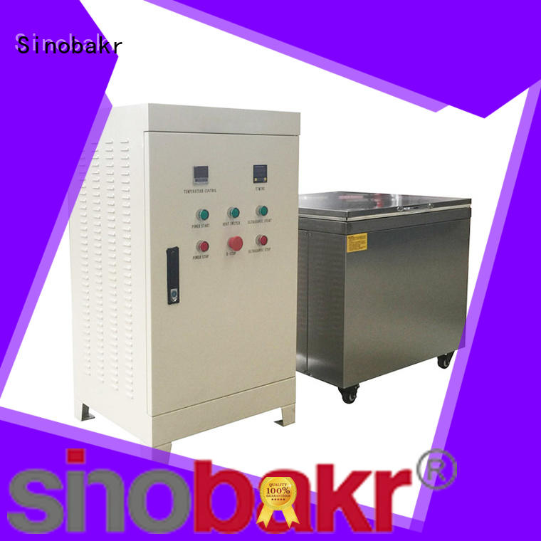 ultrasonic cleaning machine satisfying for metal parts Sinobakr