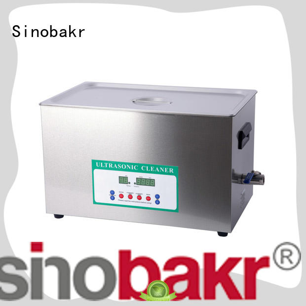 Sinobakr energy saving professional ultrasonic cleaner moto parts