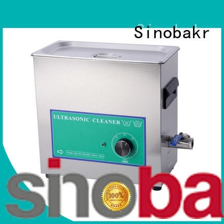 Sinobakr economical industrial sonic cleaner satisfying for metal parts
