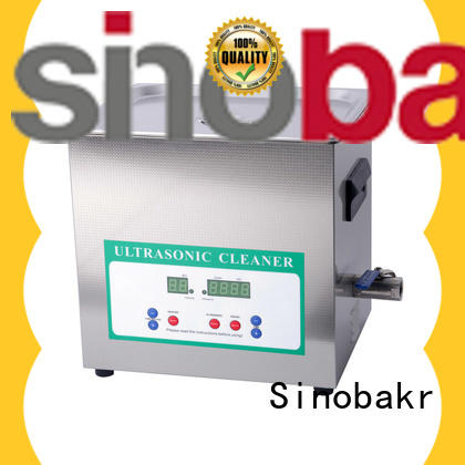 Sinobakr easy operation professional ultrasonic cleaner perfect for moto parts