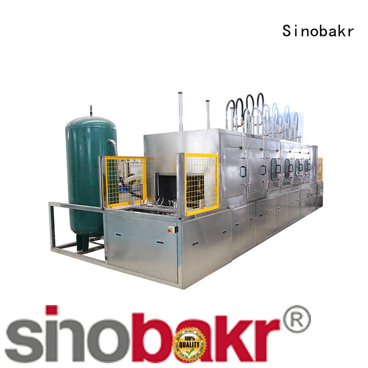 Sinobakr industrial ultrasonic cleaner widely applied for metal parts