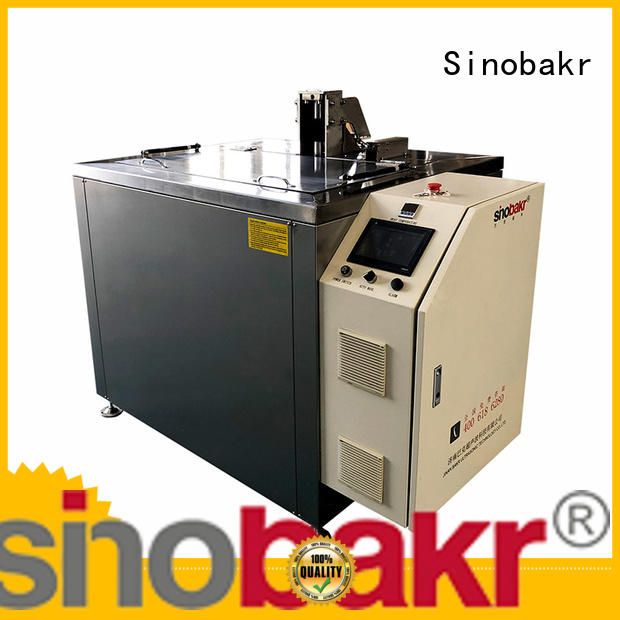 Sinobakr automotive parts cleaner ideal for machinery parts industry