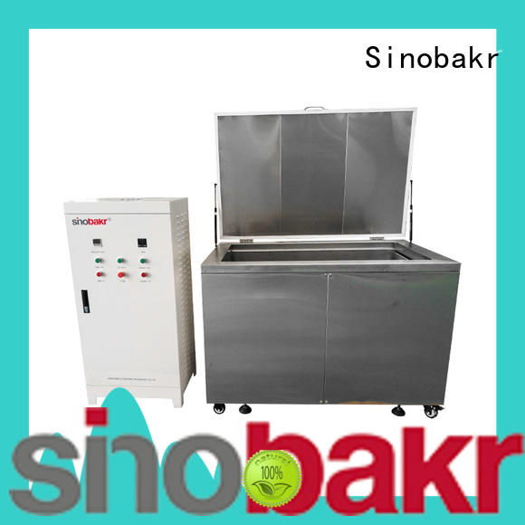 Sinobakr industrial parts washer optimal for electronic parts