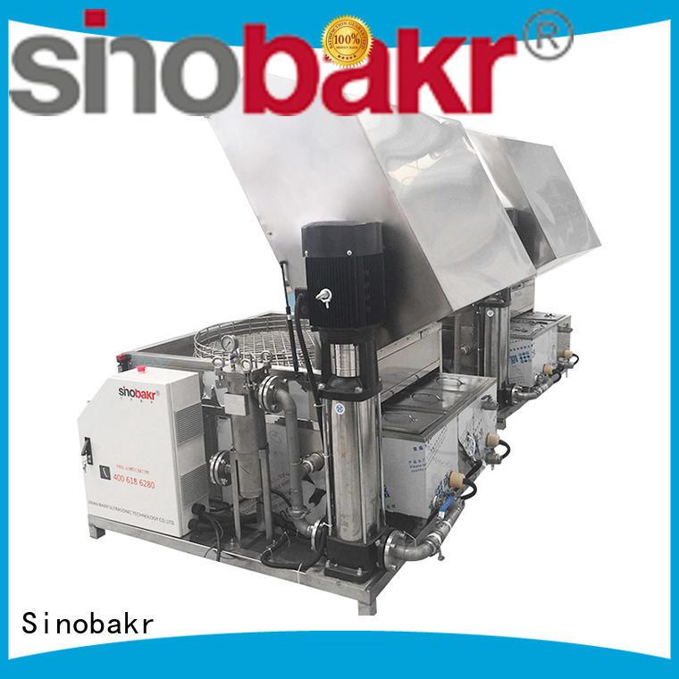 Sinobakr automatic spray cleaning machine metal parts