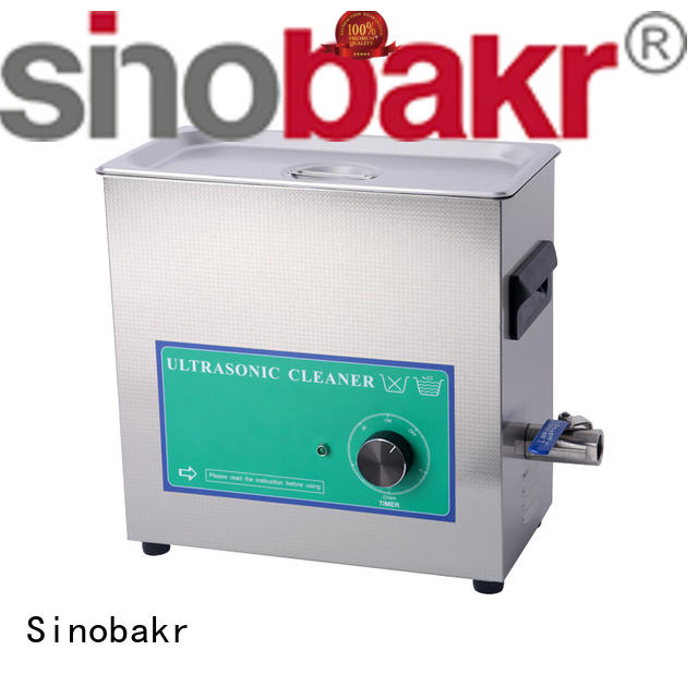 Sinobakr good price small ultrasonic cleaner electronic parts