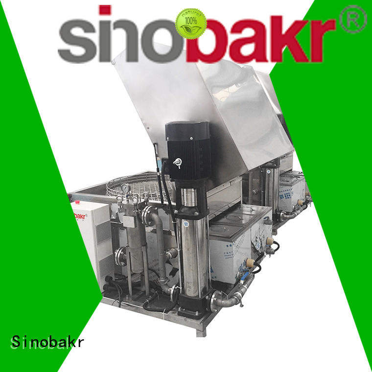 Sinobakr automatic auto parts washer metal parts