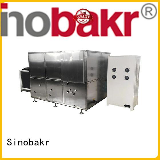 Sinobakr best industrial washing machine popular for stainless steel mobile shell