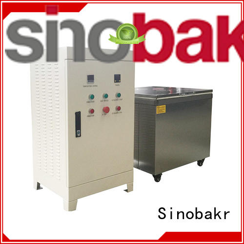 Sinobakr best ultrasonic washer metal parts
