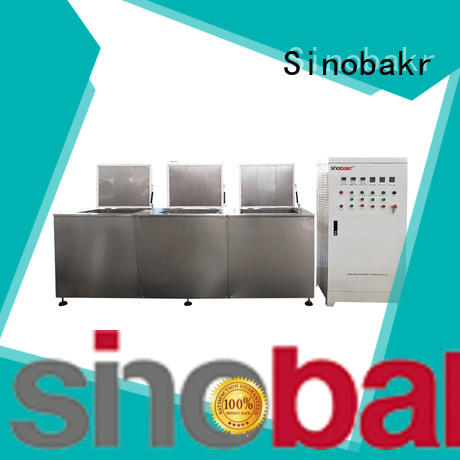 Sinobakr ultrasonic glasses cleaner needed for turnover box industry