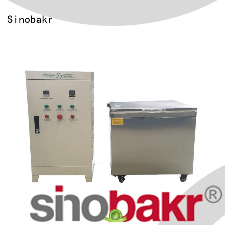 Sinobakr ultrasonic auto parts cleaner perfect for electronic parts