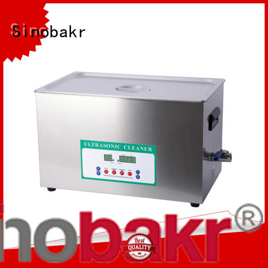 Sinobakr easy operation industrial ultrasonic parts cleaner optimal for metal parts