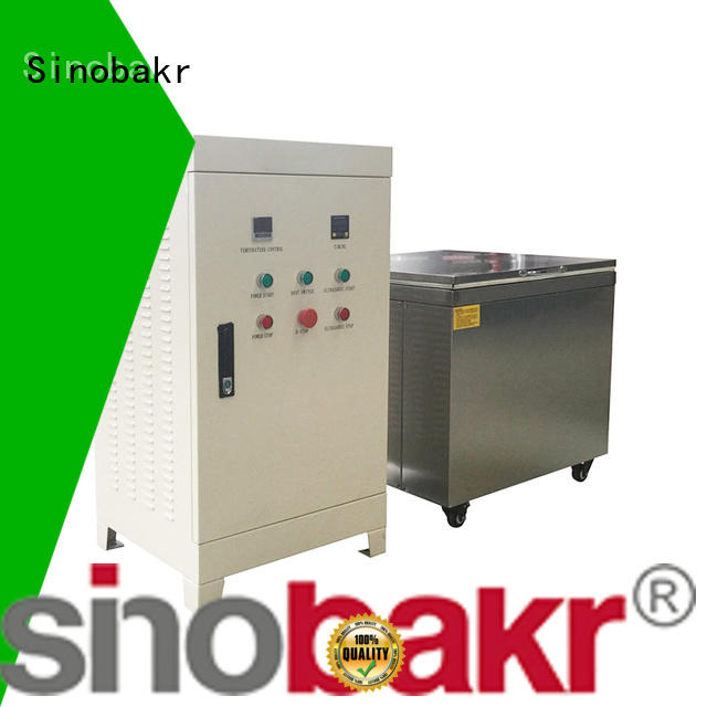 Sinobakr industrial parts washer perfect for moto parts