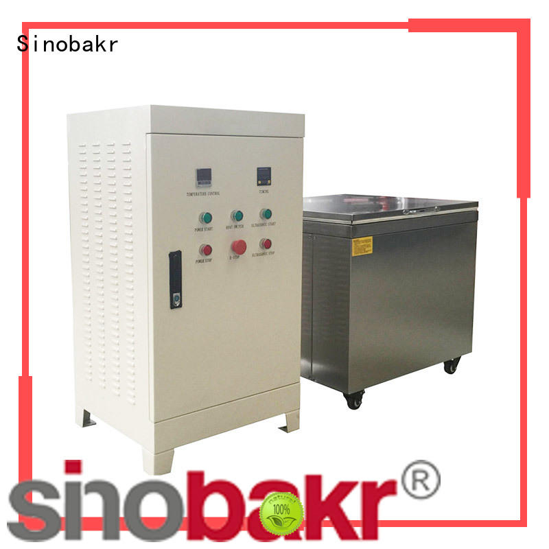 Sinobakr oustanding ultrasonic parts washer optimal for moto parts
