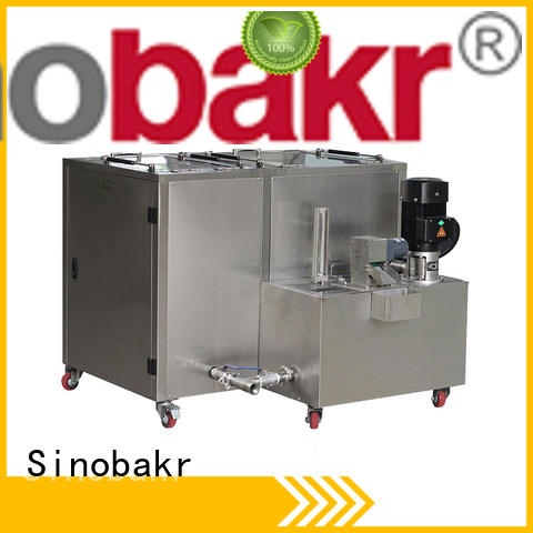Sinobakr easy operation sonic washer great for moto parts