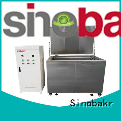 Sinobakr ultrasonic auto parts cleaner satisfying for electronic parts
